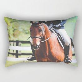 Trotting Gradient Rectangular Pillow