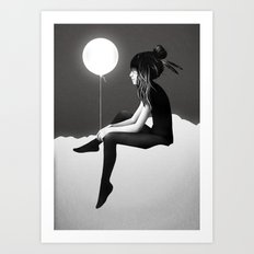 No Such Thing As Nothing (By Night) Art Print