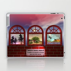 come to my travel agency Laptop & iPad Skin
