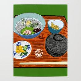 Kamakura Lunch Set Poster