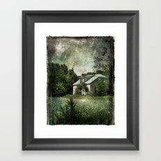 The Cloverfield House Framed Art Print