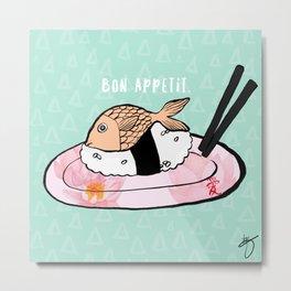Bon Appetit Metal Print