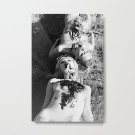 Sated Metal Print