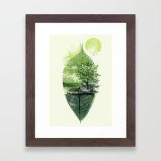 Live in Nature Framed Art Print