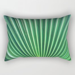 Palm Leaf Texture Rectangular Pillow