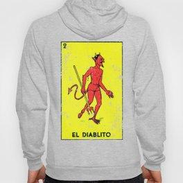 El Diablito Mexican Loteria Card Hoody