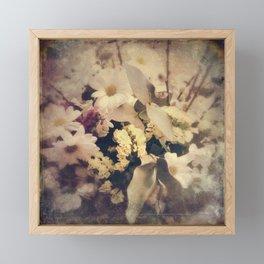 Flowers of Nostalgia Framed Mini Art Print