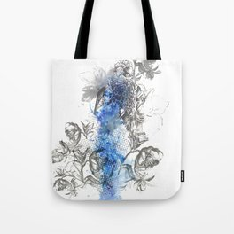 Hawk Illustration Tote Bag