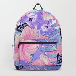 Tropical Spring Lavender Backpack