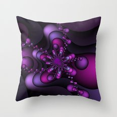 Bubble Wave Throw Pillow