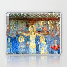 Christ on the Cross Fresco Laptop & iPad Skin