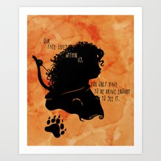 Our Fate Lives Within Us Art Print