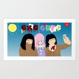 ExeCute - Freak Show Art Print