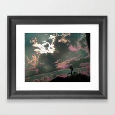 Someday in the Sky Framed Art Print