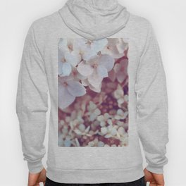 Pink and White Flowers (Color) Hoody