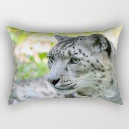 Snow leopard (Irbis)  Rectangular Pillow