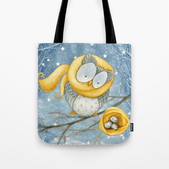 Winter animal #5 Tote Bag