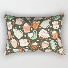 Christmas Cocoa Rectangular Pillow