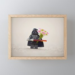 Brick Star Lord Framed Mini Art Print