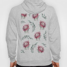Protea and Gum Leaves Hoody
