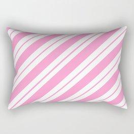 Rose Quartz Peppermint Rectangular Pillow