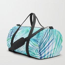 Tropical Palm Pattern Duffle Bag