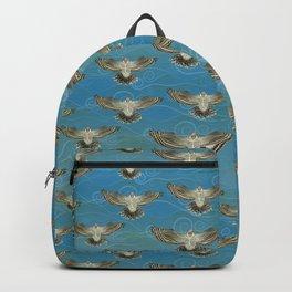 North American Hawk Owl - Blue Skies Backpack