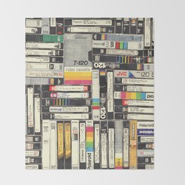 VHS Throw Blanket