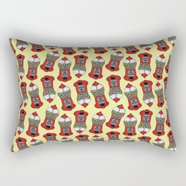 Gumball Machine Pattern Rectangular Pillow