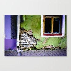 Worn Away Canvas Print