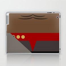 Worf - Minimalist Star Trek DS9 Deep Space Nine - Lieutenant Commander - startrek - Trektangles Laptop & iPad Skin