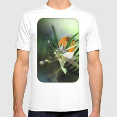 Angel MEDIUM Mens Fitted Tee White