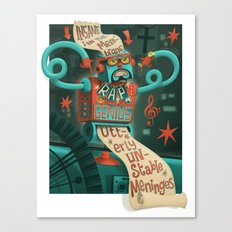 Insane in the... Canvas Print