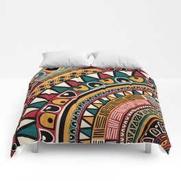 Tribal ethnic background Comforters