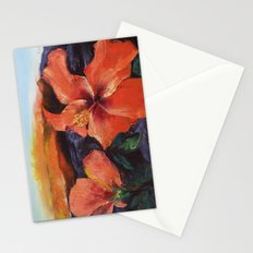 Hibiscus Volcano Stationery Cards