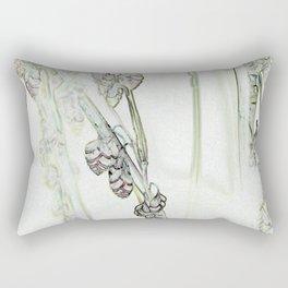 Trembling Grass Rectangular Pillow