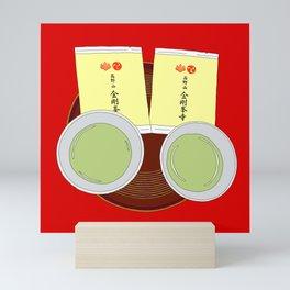 Tea Ceremony in Koyasan, Japan Mini Art Print