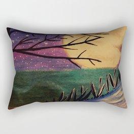 Moon reflection Rectangular Pillow