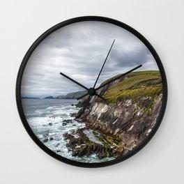 Exploring the Sleahead Trail - Dingle, Ireland Wall Clock