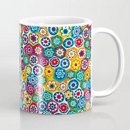 Millefiori Pattern Coffee Mug
