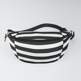 Black and White Riley 3 Fanny Pack