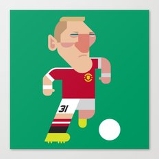 BS31 Mini   The Red Devils Canvas Print