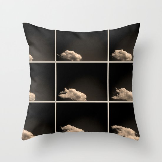 A brief sighting Throw Pillow