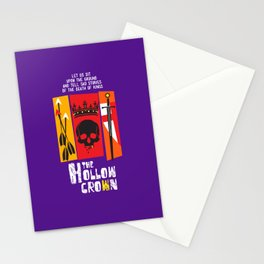 The Hollow Crown (Color Variant) Stationery Cards