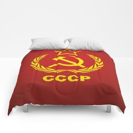 CCCP Cold War Flag Comforters