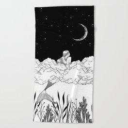 Moon River Beach Towel