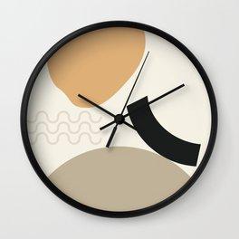// Shape study #24 Wall Clock