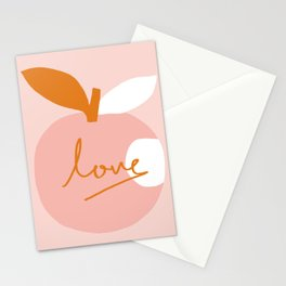 Abstraction_LOVE_BITE Stationery Cards
