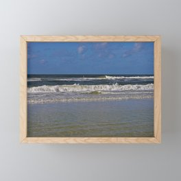 Looking for Peace and Quiet Framed Mini Art Print