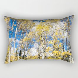 Colorado Aspens Rectangular Pillow
